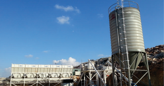 Dry Type Batching Plant